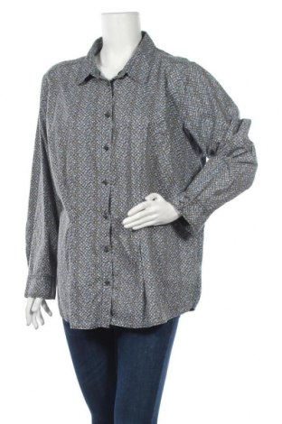 Γυναικείο πουκάμισο Ulla Popken, Μέγεθος XL, Χρώμα Πολύχρωμο, Βαμβάκι, Τιμή 11,11€