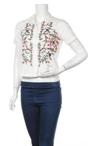 Дамска риза Vero Moda, Размер XS, Цвят Бял, Памук, Цена 34,32лв.