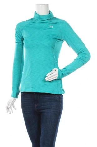 Γυναικεία αθλητική μπλούζα Under Armour, Μέγεθος S, Χρώμα Πράσινο, 87% πολυεστέρας, 13% ελαστάνη, Τιμή 18,19€