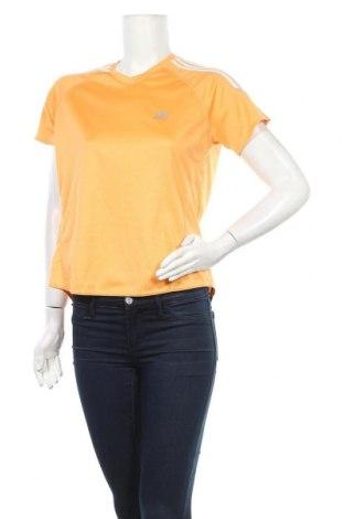 Дамска тениска Adidas, Размер L, Цвят Оранжев, Полиестер, Цена 13,44лв.