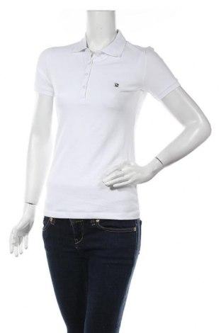 Дамска тениска Giorgio Di Mare, Размер S, Цвят Бял, 95% памук, 5% еластан, Цена 39,50лв.