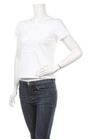 Дамска тениска ONLY, Размер XS, Цвят Бял, Памук, Цена 24,96лв.