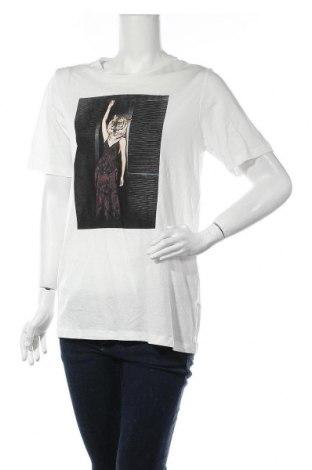 Дамска тениска Vero Moda, Размер S, Цвят Бял, 70% лиосел, 30% памук, Цена 21,76лв.