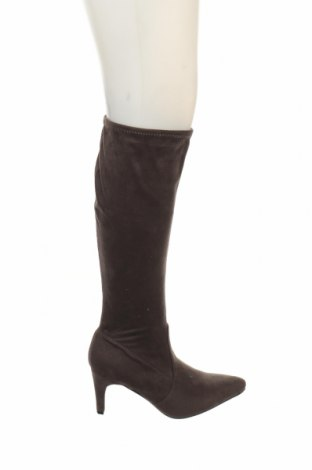 Γυναικείες μπότες Tex, Μέγεθος 38, Χρώμα Καφέ, Κλωστοϋφαντουργικά προϊόντα, Τιμή 31,18€