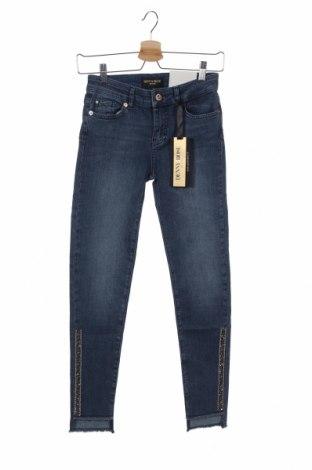 Γυναικείο Τζίν Denny Rose, Μέγεθος XS, Χρώμα Μπλέ, 82% βαμβάκι, 16% πολυεστέρας, 2% ελαστάνη, Τιμή 40,43€