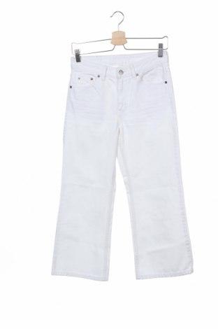 Дамски дънки Dr. Denim, Размер XS, Цвят Бял, Памук, Цена 34,22лв.
