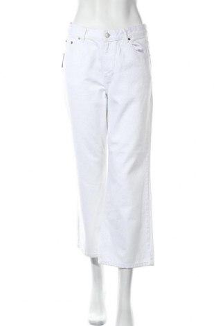 Дамски дънки Dr. Denim, Размер L, Цвят Бял, Памук, Цена 34,10лв.