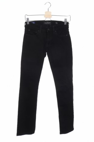 Дамски дънки Lucky Brand, Размер XS, Цвят Черен, 94% памук, 5% полиестер, 1% еластан, Цена 19,69лв.