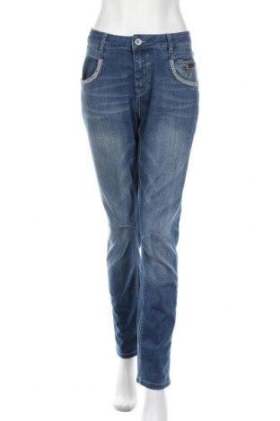 Γυναικείο Τζίν MOS MOSH, Μέγεθος XXL, Χρώμα Μπλέ, 99% βαμβάκι, 1% ελαστάνη, Τιμή 22,27€