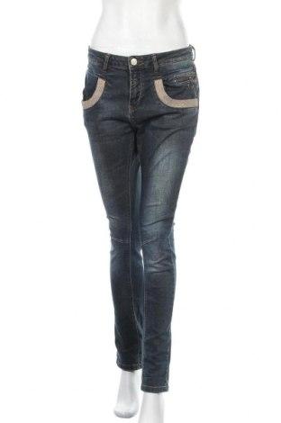 Γυναικείο Τζίν MOS MOSH, Μέγεθος M, Χρώμα Μπλέ, Βαμβάκι, ελαστάνη, Τιμή 27,77€