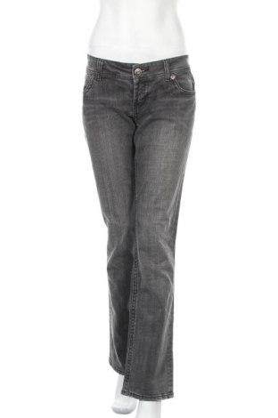 Γυναικείο Τζίν Pimkie, Μέγεθος L, Χρώμα Γκρί, 98% βαμβάκι, 2% ελαστάνη, Τιμή 11,59€