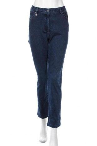 Γυναικείο Τζίν Saint James, Μέγεθος XL, Χρώμα Μπλέ, 95% βαμβάκι, 5% ελαστάνη, Τιμή 27,48€