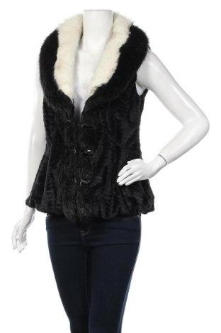 Дамски елек, Размер S, Цвят Черен, 50% памук, 50% полиестер, Цена 17,33лв.
