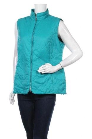 Дамски елек Laura Torelli, Размер XL, Цвят Зелен, Полиамид, Цена 29,40лв.