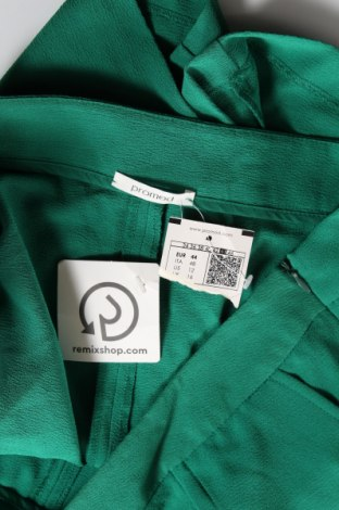 Дамски къс панталон Promod, Размер XL, Цвят Зелен, 96% полиестер, 4% еластан, Цена 16,80лв.