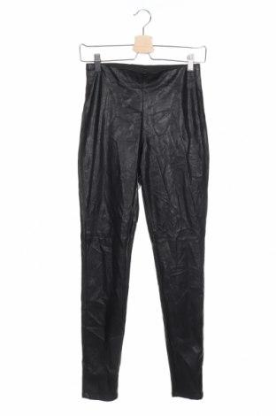 Дамски кожен клин H&M Divided, Размер M, Цвят Черен, Еко кожа, Цена 17,64лв.