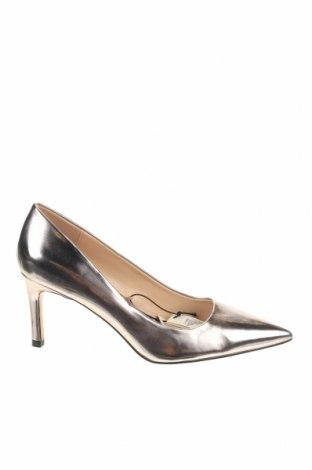 Γυναικεία παπούτσια Parfois, Μέγεθος 39, Χρώμα Ασημί, Δερματίνη, Τιμή 12,16€