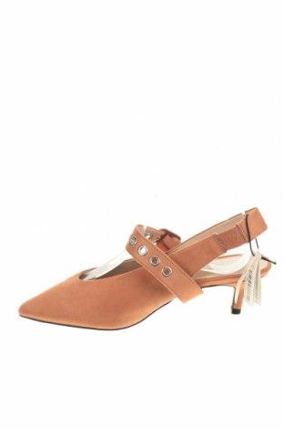 Γυναικεία παπούτσια Parfois, Μέγεθος 36, Χρώμα Σάπιο μήλο, Κλωστοϋφαντουργικά προϊόντα, Τιμή 6,16€
