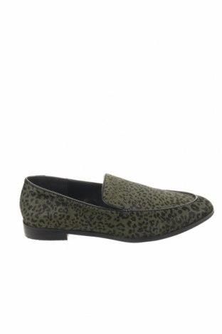 Γυναικεία παπούτσια Reserved, Μέγεθος 38, Χρώμα Πράσινο, Φυσική τρίχα, Τιμή 25,23€