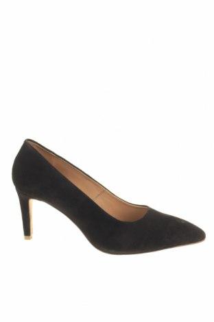 Γυναικεία παπούτσια Reserved, Μέγεθος 41, Χρώμα Μαύρο, Φυσικό σουέτ, Τιμή 22,41€