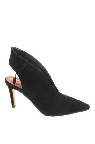 Γυναικεία παπούτσια Reserved, Μέγεθος 37, Χρώμα Μαύρο, Φυσικό σουέτ, Τιμή 29,07€