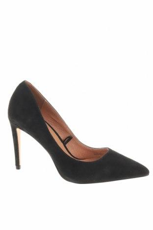 Γυναικεία παπούτσια Reserved, Μέγεθος 36, Χρώμα Μαύρο, Φυσικό σουέτ, Τιμή 30,62€