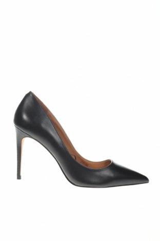 Γυναικεία παπούτσια Reserved, Μέγεθος 41, Χρώμα Μαύρο, Γνήσιο δέρμα, Τιμή 26,47€