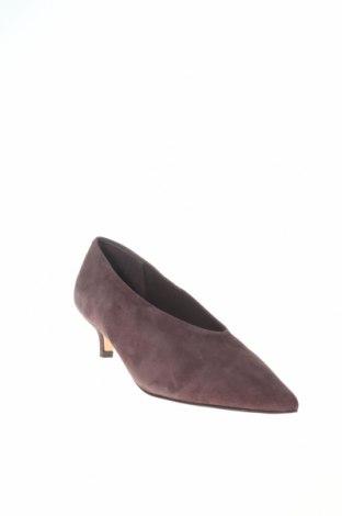 Γυναικεία παπούτσια Reserved, Μέγεθος 36, Χρώμα Γκρί, Φυσικό σουέτ, Τιμή 10,55€