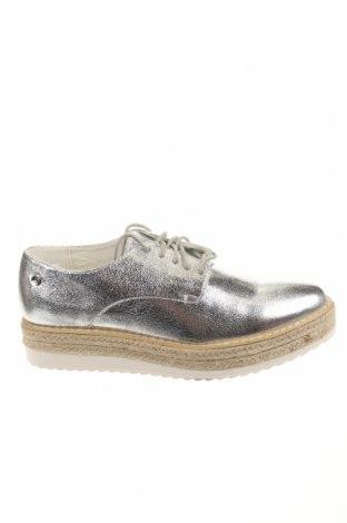 Γυναικεία παπούτσια Xti, Μέγεθος 40, Χρώμα Ασημί, Δερματίνη, Τιμή 12,22€