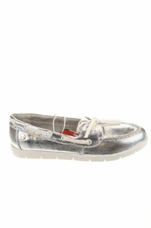 Γυναικεία παπούτσια Xti, Μέγεθος 37, Χρώμα Ασημί, Δερματίνη, Τιμή 7,50€