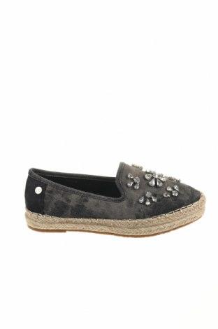 Γυναικεία παπούτσια Xti, Μέγεθος 37, Χρώμα Μαύρο, Κλωστοϋφαντουργικά προϊόντα, Τιμή 7,50€