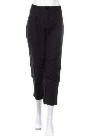 Дамски панталон La Redoute, Размер L, Цвят Черен, 97% памук, 3% еластан, Цена 14,70лв.
