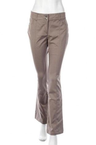 Γυναικείο παντελόνι Ashley Brooke, Μέγεθος M, Χρώμα  Μπέζ, 48% βαμβάκι, 45% πολυεστέρας, 7% ελαστάνη, Τιμή 13,45€
