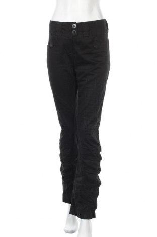 Γυναικείο παντελόνι Beate Heymann, Μέγεθος M, Χρώμα Μαύρο, 97% βαμβάκι, 3% ελαστάνη, Τιμή 16,37€