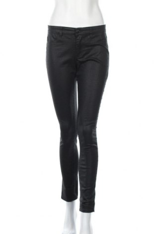 Дамски панталон Calvin Klein, Размер M, Цвят Черен, 71% памук, 27% полиестер, 2% еластан, Цена 50,40лв.