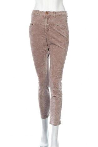 Дамски панталон Closed, Размер S, Цвят Бежов, 99% памук, 1% еластан, Цена 8,93лв.