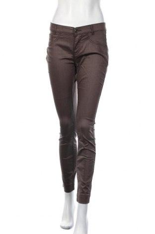 Γυναικείο παντελόνι Comma,, Μέγεθος S, Χρώμα Καφέ, 64% βαμβάκι, 32% πολυεστέρας, 4% ελαστάνη, Τιμή 12,67€