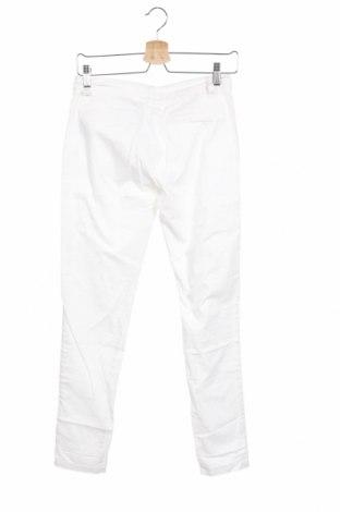 Дамски панталон DDP, Размер XS, Цвят Бял, 97% памук, 3% еластан, Цена 17,80лв.