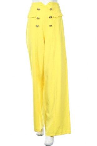 Γυναικείο παντελόνι Denny Rose, Μέγεθος S, Χρώμα Κίτρινο, 95% πολυεστέρας, 5% ελαστάνη, Τιμή 35,24€