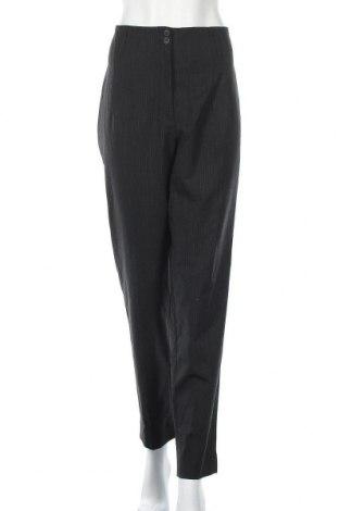 Дамски панталон Deyk, Размер L, Цвят Сив, 54% полиестер, 44% вълна, 2% еластан, Цена 11,34лв.