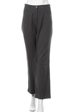 Дамски панталон Kello, Размер M, Цвят Сив, 64% полиестер, 34% вискоза, 5% еластан, Цена 9,18лв.
