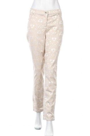 Γυναικείο παντελόνι Lola Paltinger, Μέγεθος L, Χρώμα  Μπέζ, 54% βαμβάκι, 44% πολυεστέρας, 2% ελαστάνη, Τιμή 28,06€