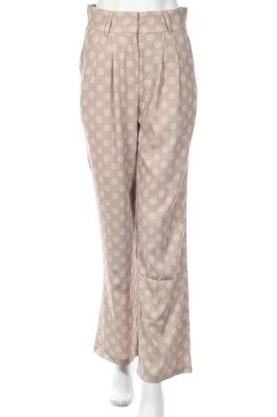 Дамски панталон Na-Kd, Размер S, Цвят Бежов, 95% полиестер, 5% еластан, Цена 27,60лв.