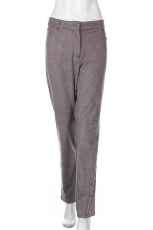 Γυναικείο παντελόνι Olsen, Μέγεθος XXL, Χρώμα Γκρί, 92% πολυεστέρας, 8% ελαστάνη, Τιμή 16,89€