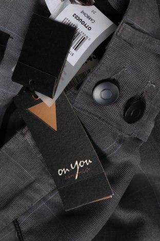 Дамски панталон On.You, Размер XS, Цвят Сив, 84% полиестер, 16% вискоза, Цена 17,38лв.