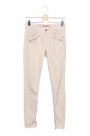 Дамски панталон Perfect Jeans By Gina Tricot, Размер M, Цвят Бежов, 97% памук, 3% еластан, Цена 21,42лв.