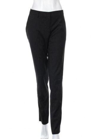 Pantaloni de femei Sisley, Mărime L, Culoare Negru, 64% poliester, 34% viscoză, 3% elastan, Preț 74,60 Lei