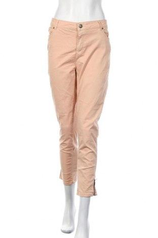 Γυναικείο παντελόνι Soya Concept, Μέγεθος XL, Χρώμα Ρόζ , 62% βαμβάκι, 32% πολυεστέρας, 6% ελαστάνη, Τιμή 5,91€