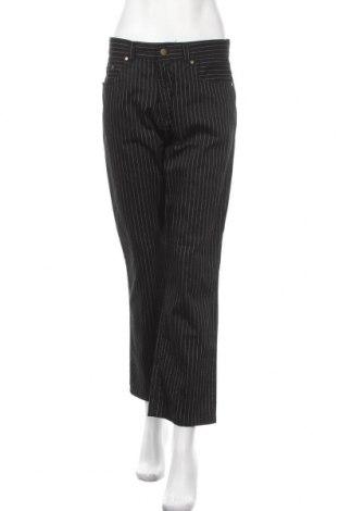 Дамски панталон Y.o.u, Размер M, Цвят Черен, 90% памук, 10% полиестер, Цена 19,85лв.