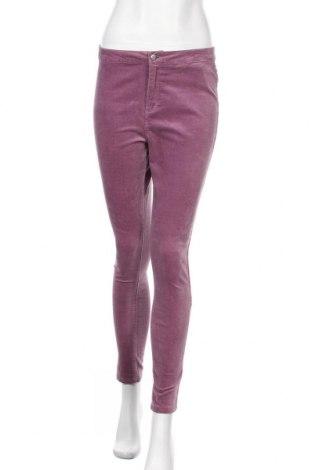 Γυναικείο παντελόνι Yes Or No, Μέγεθος M, Χρώμα Βιολετί, 98% βαμβάκι, 2% ελαστάνη, Τιμή 14,19€